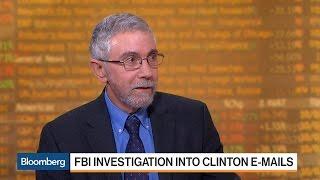 Paul Krugman: FBI's Handling of Clinton Emails Is 'Absolutely Bonkers'