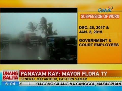 UB: Panayam kay Mayor Flora Ty, General MacArthur, Eastern Samar