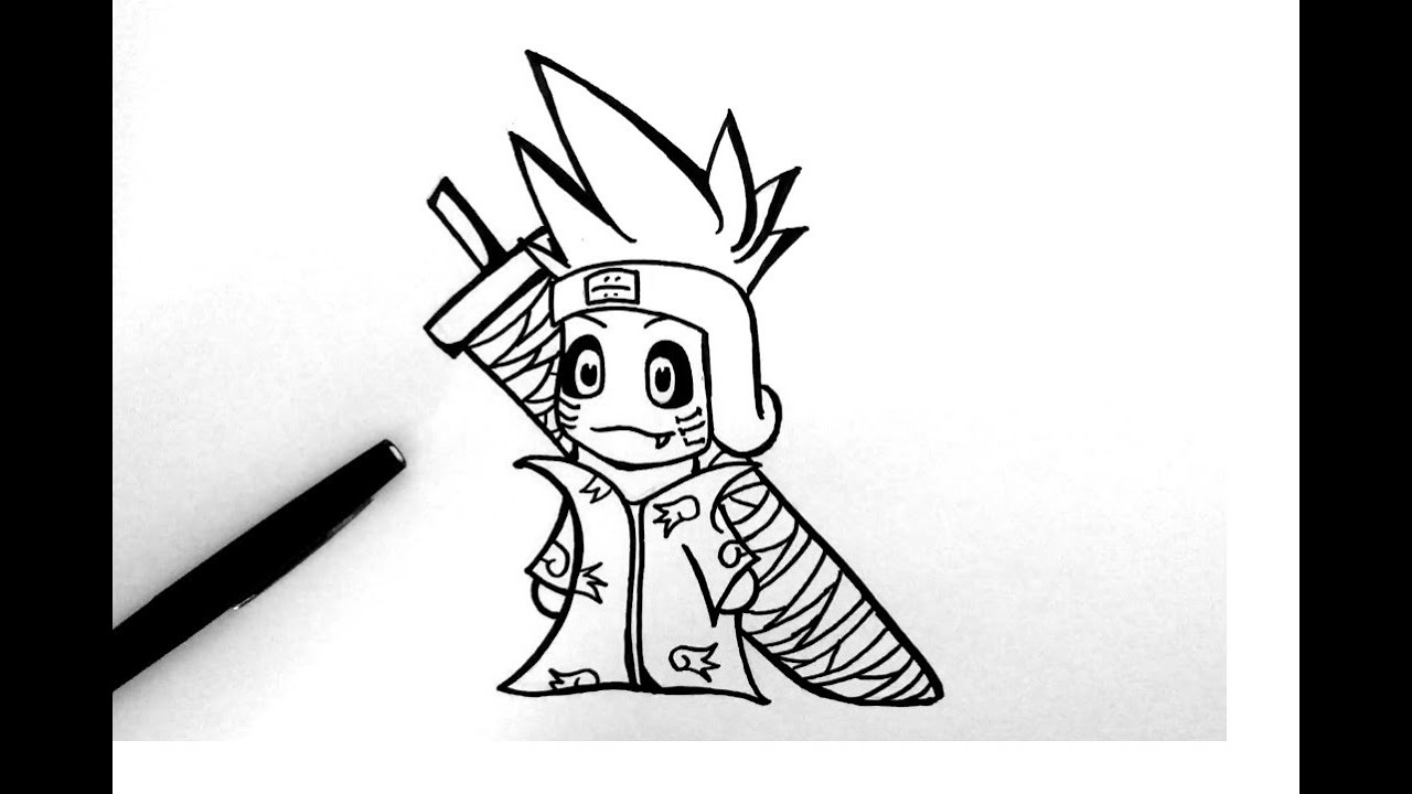 How To Draw Kisame Naruto Chibi
