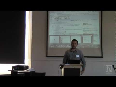 Erik Martin, GM of Reddit at the Hypothes.is Reputation Workshop