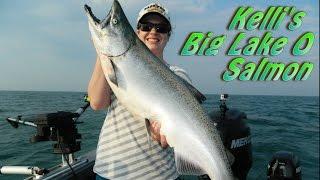 Huge Lake Ontario Salmon