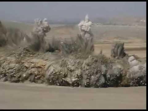 Video 0007- Blasting - Peledakan lapisan batubara