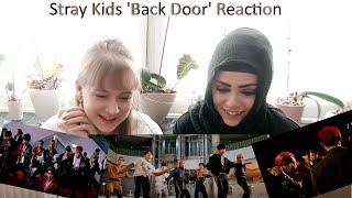 """[한글자막] 독일여자들의 """"스트레이 키즈 -back door""""뮤직비디오 리액션 - Stray Kids - back door reaction video."""