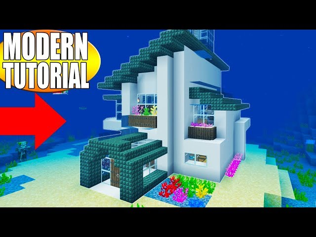minecraft house ideas modern
