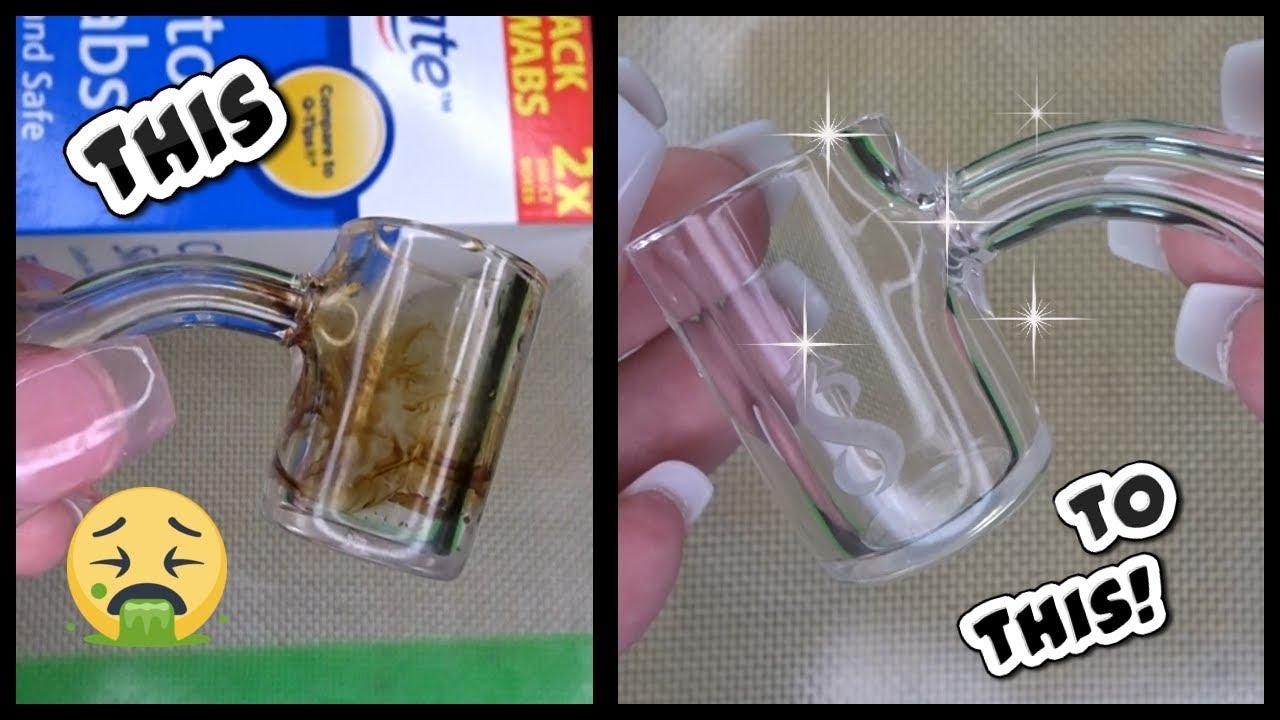 How to Clean a Dirty Quartz Banger! - YouTube