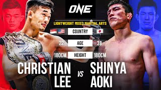 Christian Lee Vs. Shinya Aoki Full Fight Replay