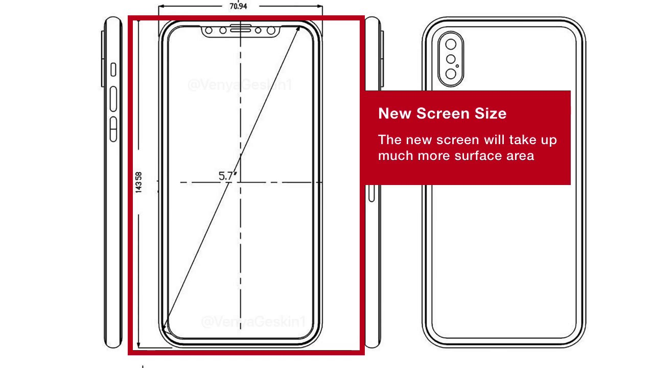 IPhone 8 Design Wireframe