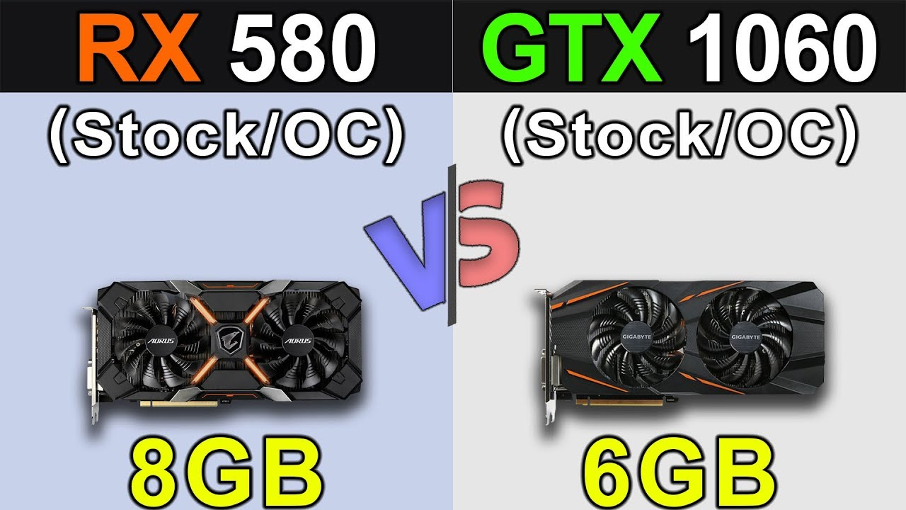 RX 580 Vs  GTX 1060 | Latest Drivers Updates | New Games Benchmarks
