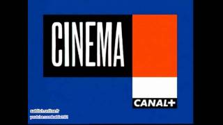 Canal Plus Bleu (France) - 2002 - jingle cinéma v2