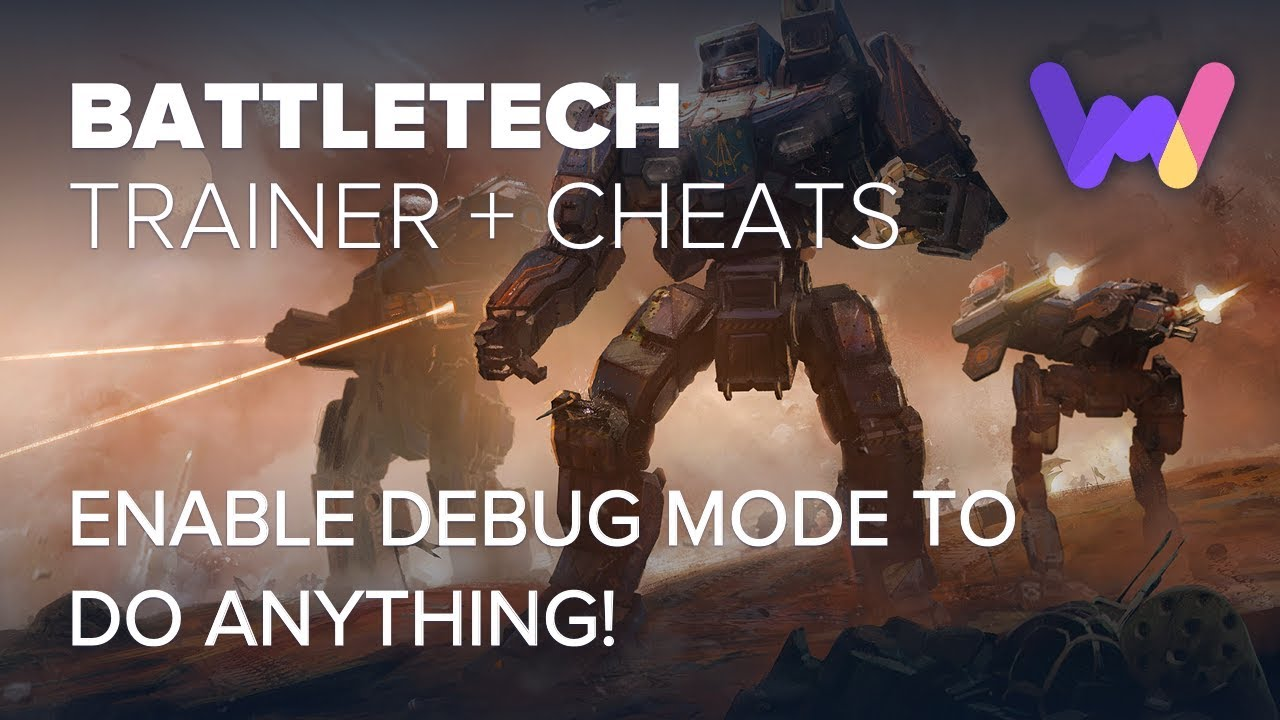 <b>BattleTech</b> Trainer +10 Options - (Enable Debug Mode) - YouTube