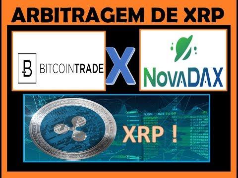 Arbitragem NovaDax X Bitcoin Trade - XRP (Ripple) - Técnica