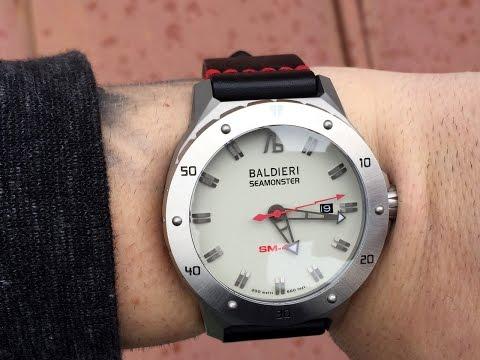 Baldieri SM-46 Seamonster Watch Review