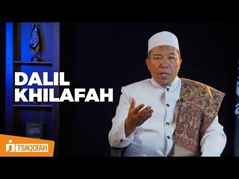 Haruskah dalil Khilafah ada di dalam Al Qur'an