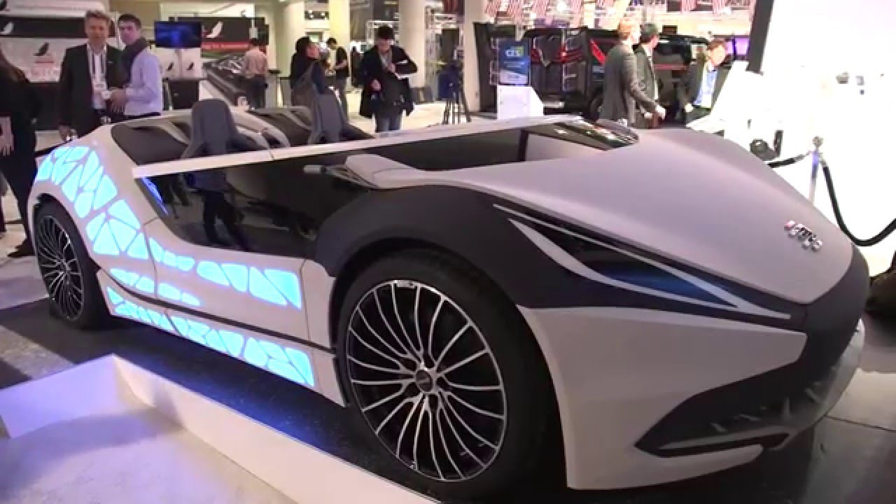 The Bosch Connected Mobility Showcar At CES YouTube - Show car