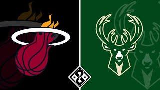 Miami Heat vs Milwaukee Bucks Game 1 Live Stream Play by Play