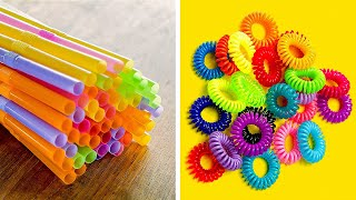 Cool And Easy Wąys to Reuse Plastic at Home || Useful Plastic Crafts by 5-Minute DECOR!