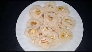 Home madeCondensed milk nariyal barfi! नारियल बरफी!  By kanchan cooking recipe