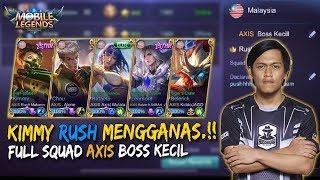 Inilah Kekuatan Full Squad Rush AXIS Boss Kecil!! Mobile Legends: Malaysia