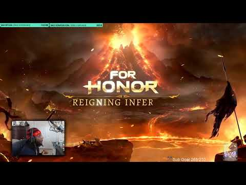 [For Honor] New Reigning Inferno Weapons and Trailer - Reaction!