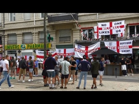 LIVE: Football fans head to Stade de Nice ahead of England-Iceland match