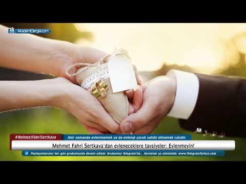 Süleymancı Mehmet Fahri Sertkaya'dan evleneceklere tavsiyeler: Evlenmeyin!