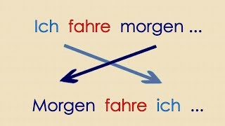 Deutsch lernen Grammatik 21: Satzbau