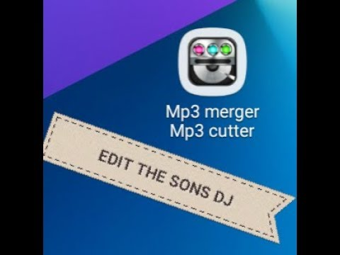 To EDIT AND Merging the songs good app