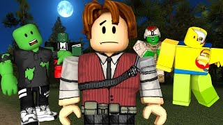 ROBLOX-I WAS ATTACKED BY ZOMBIES IN ROBLOX (Those Who Remain)