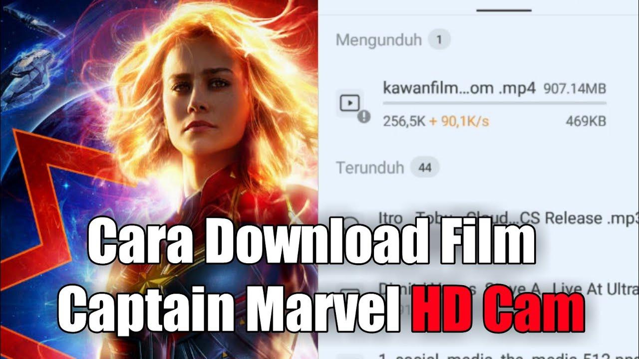 cara download filn captain marvel - youtube