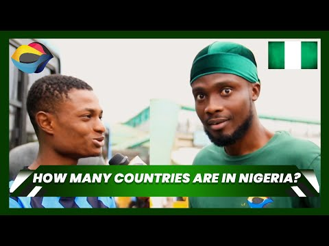 How Many Countries Are In Nigeria? | Street Quiz Nigeria (Ep. 1) | Funny African Videos |