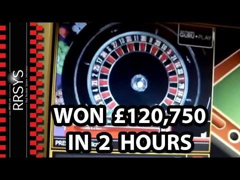 ▀ £120,750 in 2 hours Biggest CASINO Roulette Win Ever - Real Cash
