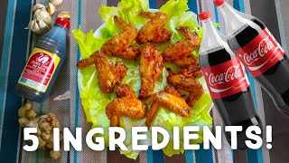 PINOY EASY COCA-COLA CHICKEN WINGS!