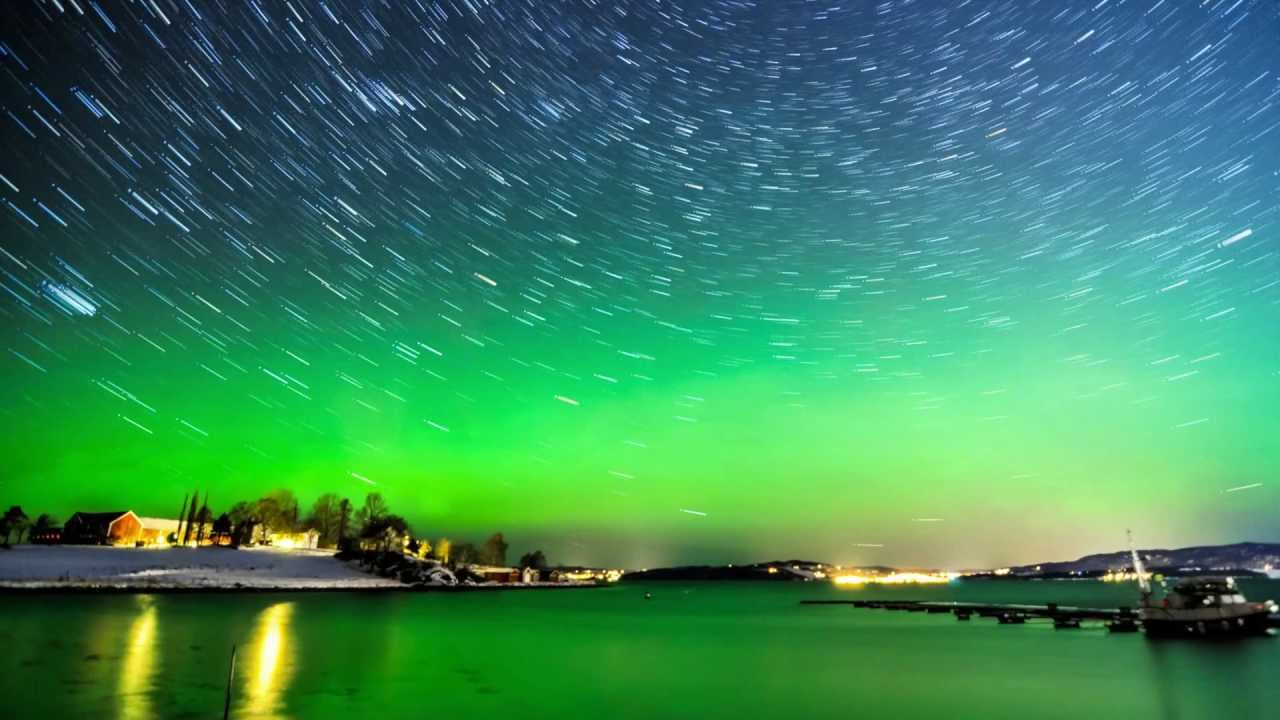 Valentines Day Northern Lights 1080p HD YouTube