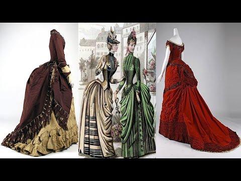 Как одевались барышни в 19 веке
