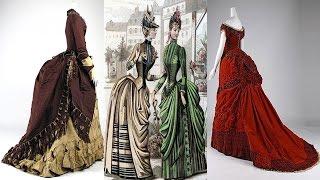 Мода 19 века. Эталон женственности.