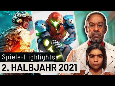 Highlights 2021: Diese Games kommen noch dieses Jahr raus!