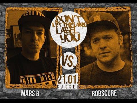 Robscure vs Mars B. // DLTLLY RapBattle (Kassel) // 2017