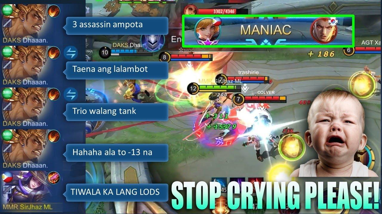 Paano Magbuhat ng IYAKIN?   Fanny Maniac by SirJhaz ML   Mobile Legnds: Bang Bang