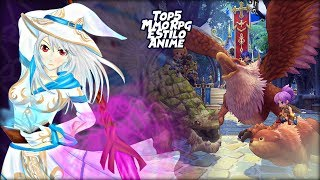 Top 5 MmoRpg 2017 Estilo Anime | Mmo Anime | Top 5 MmoRpg Free To Play | Top MmoRpg