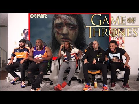 """Disappointed? Game of Thrones 8x5 """"The Bells"""" REACTION/REVIEW PART 2"""
