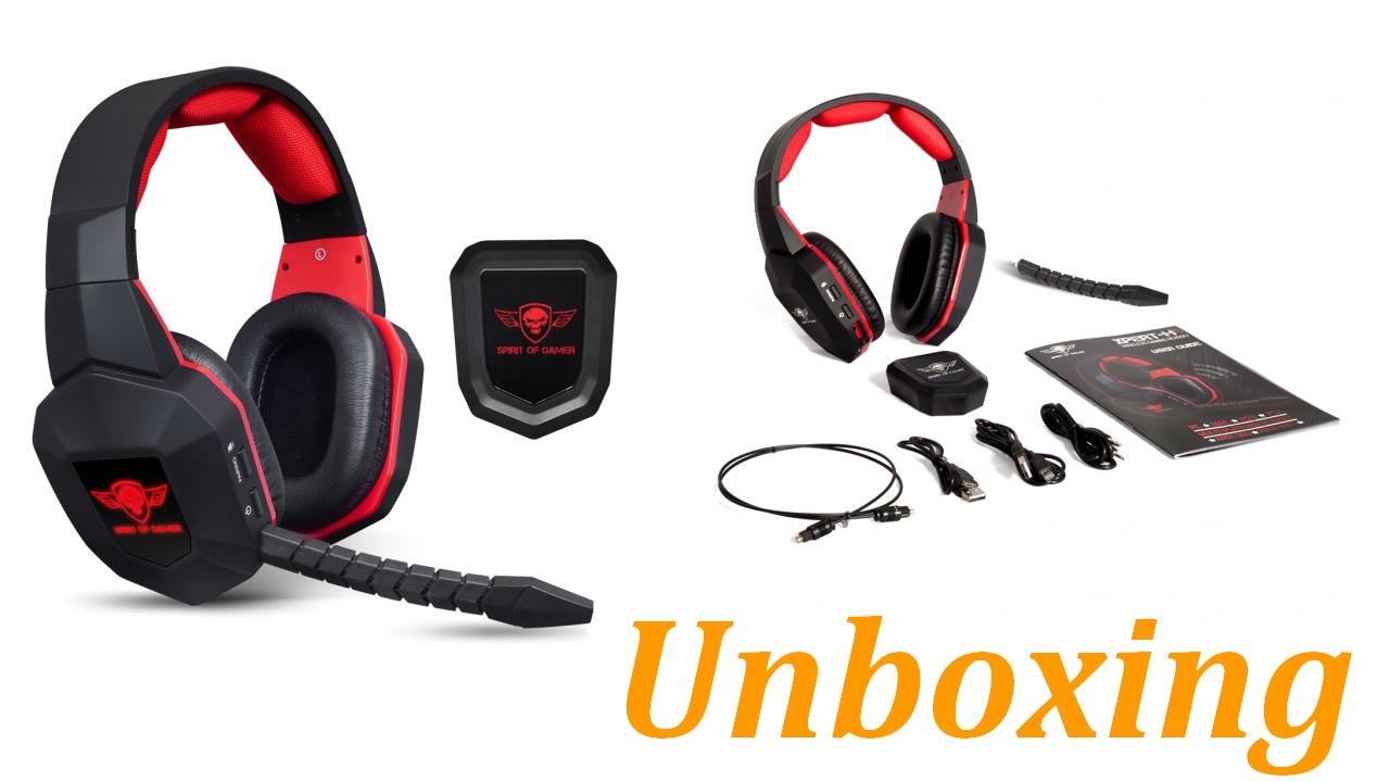 Unboxing Du Casque Sans Fil Spirit Of Gamer Xpert H9 Youtube