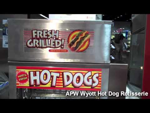 APW Wyott DR-2A Hot Dog Rotisserie
