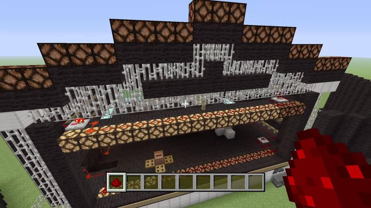 Minecraft construction de fou 1 scene de concert youtube - Minecraft construction de fou ...