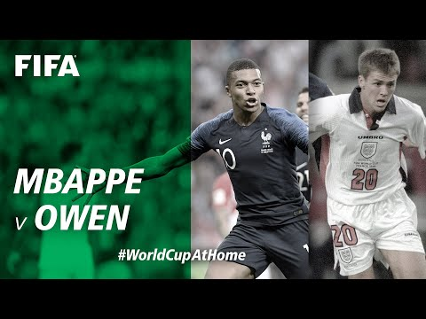 #WorldCupAtHome | Mbappe v Owen