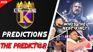 King of the Ring BRACKETS REVEALED! WWE King of the Ring 2019 Tournament's Predictions