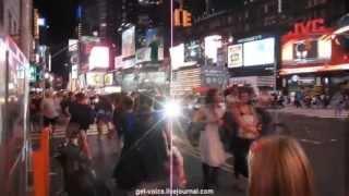США ★ Мой Нью-Йорк. День 8. Times Square (3/3) Фильм-катастрофа и мюзикл!