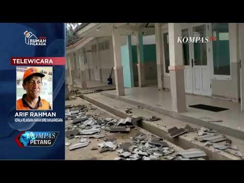 BMKG: Pusat Gempa Berada 53 Km Utara Kebumen