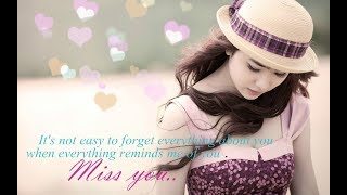 I Miss you Whatsapp Status Video Free Download  (Missing You)