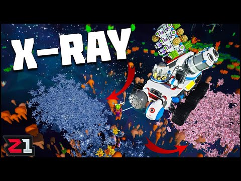 We Can X-RAY ASTRONEER And Rover Planet Jump ! Astroneer Groudwork Update | Z1 Gaming
