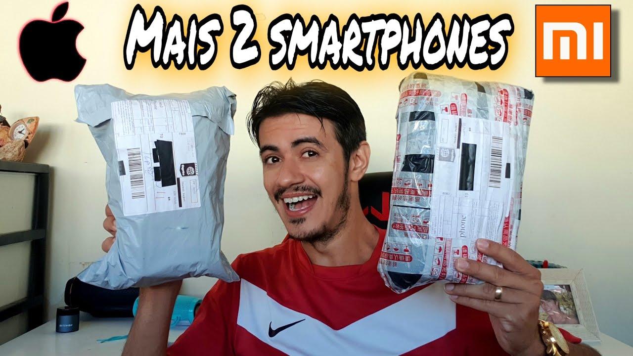 Recebi mais 2 smartphones da CHINA | Unboxing ALIEXPRESS 2020 Brasil!
